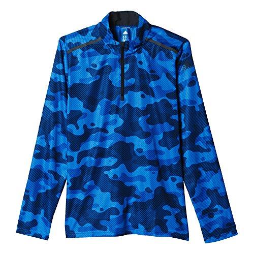 adidas Cool365 Long SL - Camiseta para Hombre, Color Azul, Talla XL