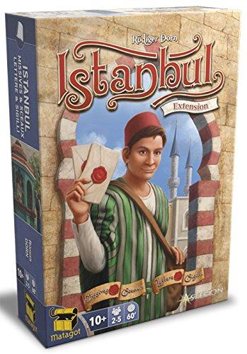 Asmodee- Istanbul Lettere & Sigilli Juego de Mesa, Multicolor (Asterion Press s.r.l....