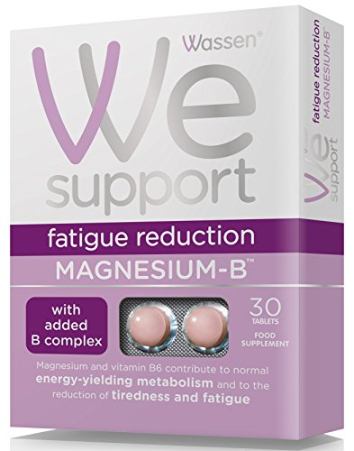 Wassen We Support Fatigue Reduction Magnesium-B - 30 Tablets