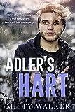 Adler's Hart: An Age Gap, Forced Proximity, Gay Romance Novella (English Edition)