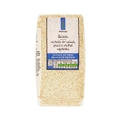 Special price for a limited time Virginia Beach Mall Quinoa Waitrose Love Life 500g of - 4 Pack