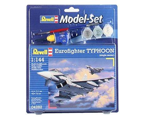 Revell - Maqueta Modelo Set Eurofighter Typhoon, Escala 1:144 (64282)