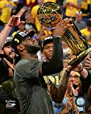 Lebron James with The NBA Championship Trophy Game 7 of The