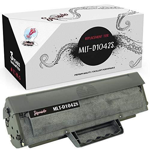 Squuido Cartucho de tóner MLT-D1042S Compatible para Samsung ML-1660 ML-1665 ML-1670 ML-1675 ML-1860 ML-1865 ML-1865W SCX-3200 SCX-3201 SCX-3205 SCX-3205W | Alto Rendimiento 1500 páginas
