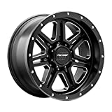 Pro Comp Wheels 5162-218947 Apex Series Size 20x10 Bolt Pattern 8x180 in. Back Space 4.75 in. -18mm Offset Max Load 3680 lbs. Satin Black Milled Apex Series