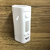 Direct Connection Co. Silicone Case for Wismec Reuleaux DNA 200 Sleeve DNA200 Skin Wrap (White)