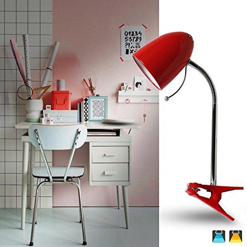 Aigostar 182304 - Lámpara mesa tipo flexo pinza diseño