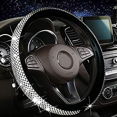 Amazon - Save 50%: Vemote New Bling Bling Car Steering Wheel Cover for Women Girl with Diamon…