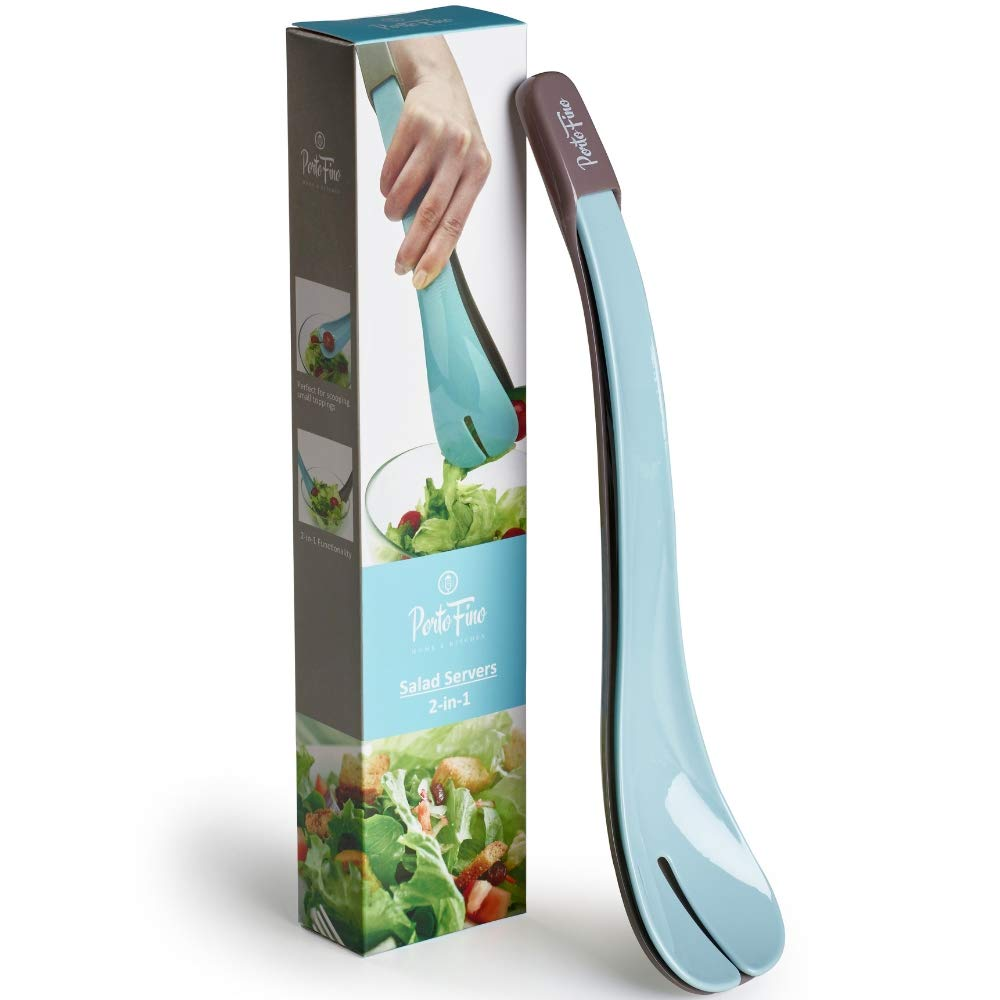 T-fal Excite 3-in-1 Linking Salad Tongs Green