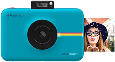 Polaroid Snap Touch Portable Instant Print Digital Camera with LCD Touchscreen Display (Blue)