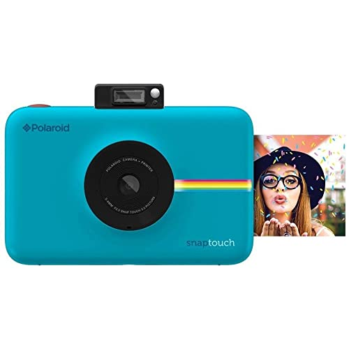Polaroid Snap Touch Instant Print Digital Camera with LCD Display and Zink Zero Ink Printing Technology - Blue