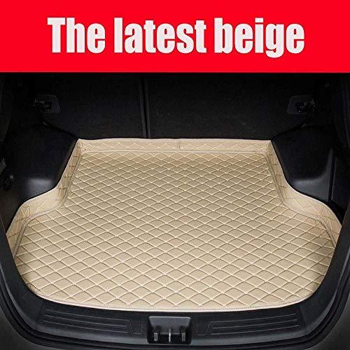 ZHXMI Kofferraummatten, für Mercedes Benz C117 W211 w212 W176 W204 W205 CLA180 CLA200 alle Auto Styling Liner-Beige