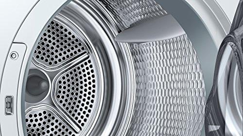 Bosch WTW875W0 Serie 8 Wärmepumpentrockner mit Glastür / Energieeffizienz A+++ / 176 kWh/Jahr / 8 kg / weiß / Edelstahltrommel / EcoSilence Drive - 6