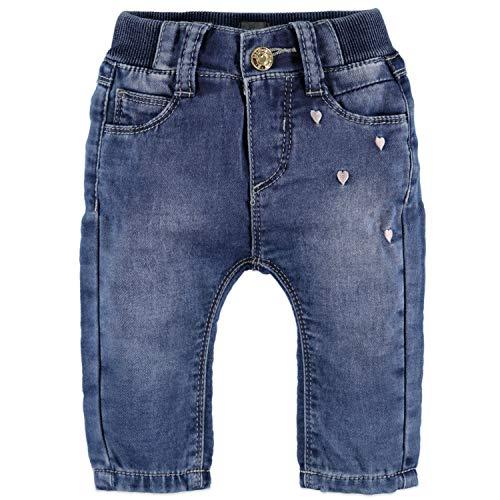 Babyface New Born Girls Jogg Jeans 0128207 FB. Blue Denim - Bleu - 6 Mois