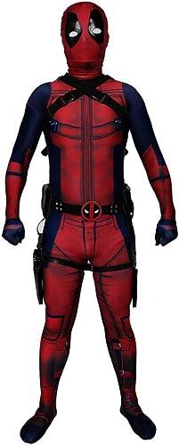 tienda hace compras y ventas CHXY Deadpool Deadpool Deadpool Niño Adulto Ropa Cosplay Vestido Halloween Navidad Celebracion Superhéroe Traje Fiesta De Baile Medias,Kid-M  oferta especial