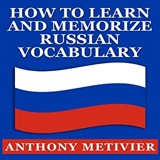 How to Learn and Memorize Russian Vocabulary cover art