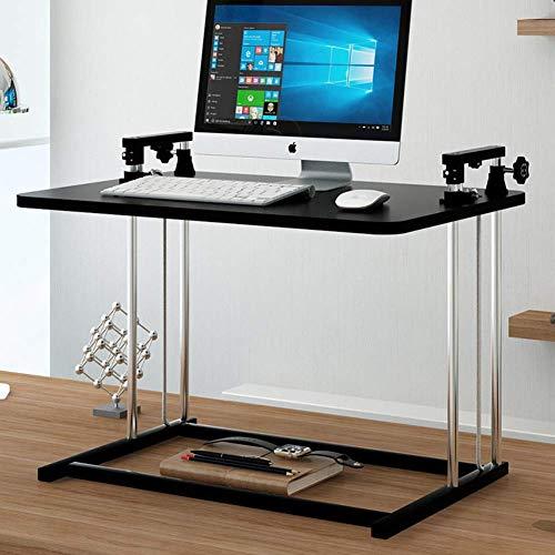 DGHJK Escritorio de pie Mesa portátil ultradelgada Ajustable en Altura para Mesa de Estar, estación de Trabajo de Oficina para computadora portátil y Monitor-A 68x45cm (27x18inch)