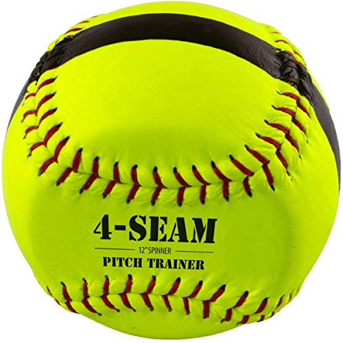 Bownet 4-Seam Flat Spinner- Pitcher Training Ball