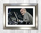 Engravia Digital Phil Collins Poster Signed Autograph