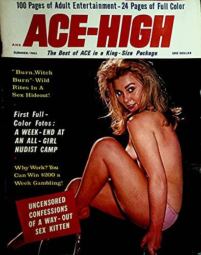 Ace-High Men's Magazine All-Girl Nudist Camp...
