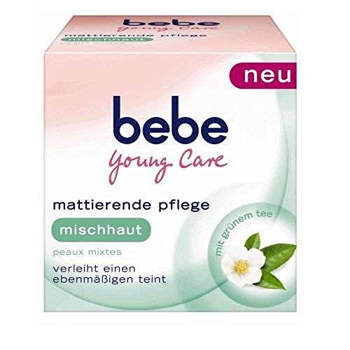 3 x Bebe Young Care mattierende pflege für Mischhaut Tagescreme / 3 x 50ml NEU