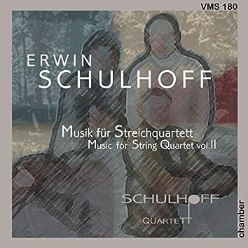 Schulhoff: String Quartets Vol. 2