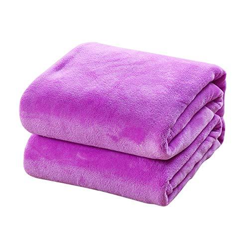 Fablcrew. Kuscheldecke, warm, weich, für Hunde, Katzen, warm und bequem, Herbst, Winter, für Haustiere, mehrfarbig, 50 x 70 cm., Violett