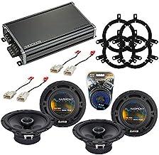Sponsored Ad - Compatible with Toyota Sequoia 2003-2007 Factory Speaker Replacement Harmony Audio Bundle (2) R65 & CXA360....