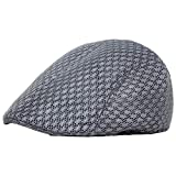 Aztnrwen Vintage Fashion Men's Newsboy Hat Classic Hat Collection-Netstyledarkgray