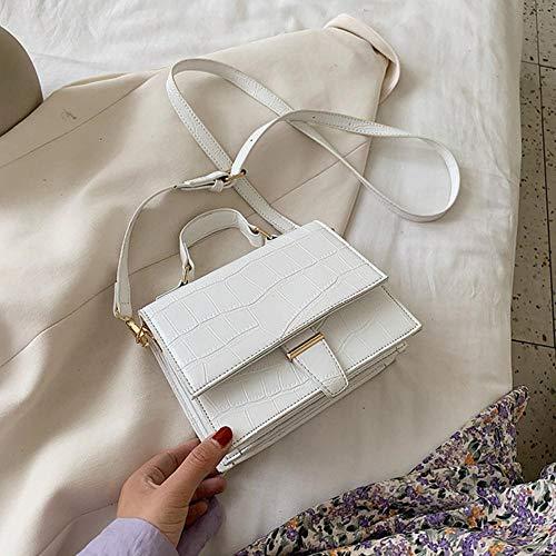 PANZZ Crossbody Bags Women Travel Summer Shoulder Sacs à Main, Blanc, Mini