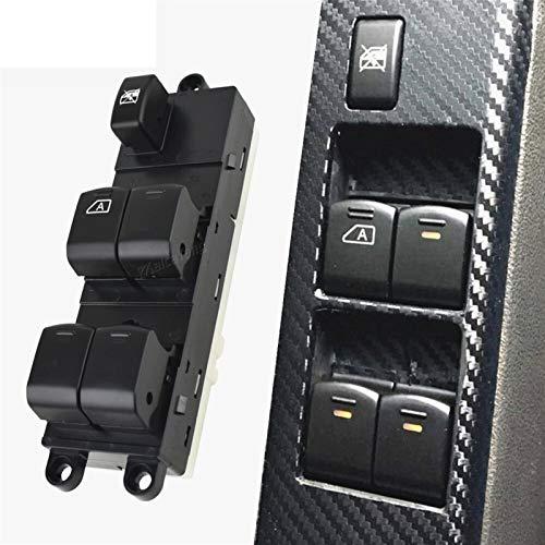 HUOGUOYIN Interruptor de control de panel de interruptor para 25401-EB30B 25401EB30B Elevalunas eléctrica delantera izquierda ajuste maestro para Nissan Pathfinder R51 Navara D40 King Cab Pickup