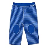 i play. by green sprouts Baby Organic Yoga Pants, Royal Blue Stripe, 12mo