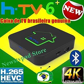 2020 Official HTV box 6+ tigre Tigre2 box Brazil Box Based On IPTV8 HTV6+ HTV box 6, HTV box 5 IPTV6 HTV3 4k canais do Bra...
