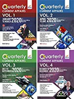YEARLY Current Affairs Pack of 4 Quarterly Issues (January to December 2020) for Competitive Exams 3rd Edition