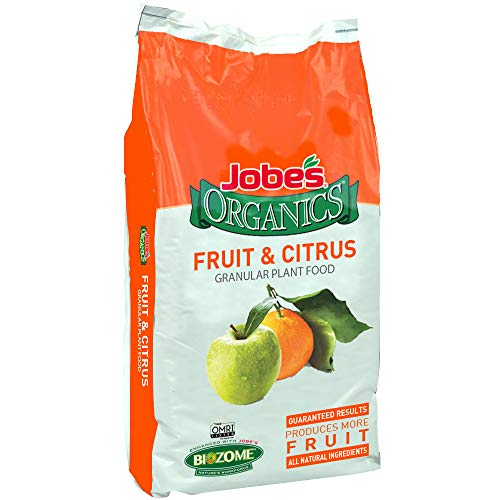 Jobe's Organics 09224 Fruit & Citrus Fertilizer, 16lb, Brown