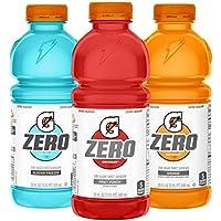 12-Pack Gatorade G Zero Thirst Quencher, 3 Flavor Variety Pack