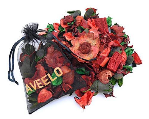 AVEELO-Versand Potpourri decorativo | Fiori secchi | Fragranza | Profumo per ambienti | Deodorante per ambienti | Fiori | Naturale | Dofta | Rosso