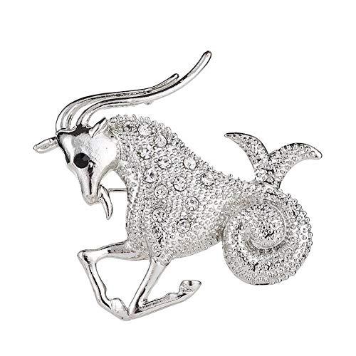 Csheng Pins Broches De Bisuteria Broche de Diamantes de imitación Broches para...