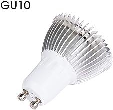GerTong Cultivo con 18 Leds, 8w llevó la luz la Planta Crece la lámpara para el jardín Interior del Invernadero hidropónico vegtable y Flor de Herramientas de Crecimiento (GU10)