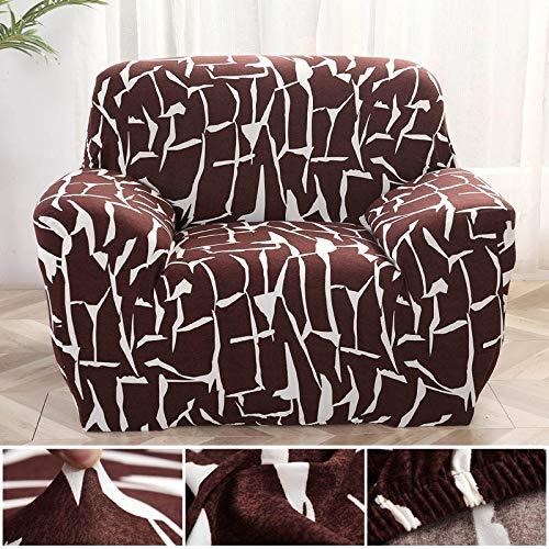 WXQY Fundas elásticas Funda de sofá elástica Funda de sofá de protección para Mascotas Funda de sofá de Esquina en Forma de L Funda de sofá Todo Incluido A5 2 plazas