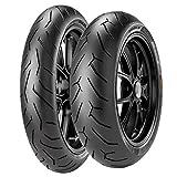 Paire Pneu pneus Pirelli Diablo Rouge 2110/70R 1754H 150/60R 1766H