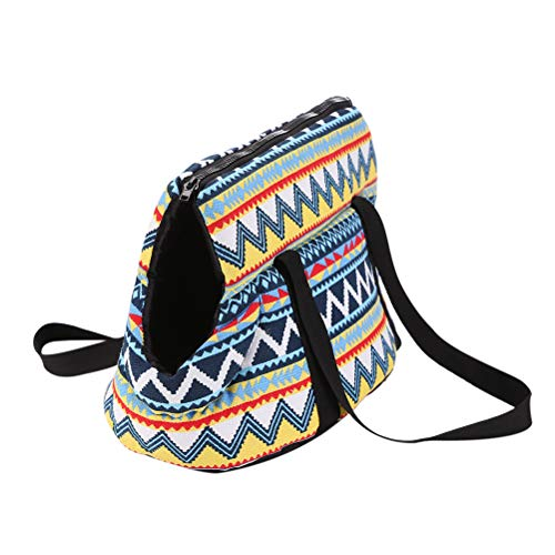 POPETPOP gato perro viaje bolso bolso suave llevar mascota mochila al aire libre perro portador viaje productos para mascotas - Talla L