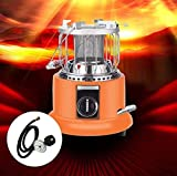 Estar 2 in 1 Portable Heater & Stove,Outdoor Camping Gas Stove Camp Tent Heater for Garage,Kitchen, Ice Fishing, Backpacking Hiking, Hunting, Survival Emergency