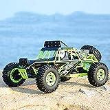 1/12 2.4G 50 km / H de alta velocidad 4x4 RTR remoto del vehículo de control electrónico Desert Buggy Racing de alta velocidad que compite con los coches de Rc Lasting Roca 4WD Off-Road escalador Vehí