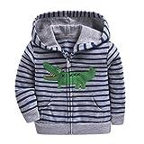 Oxking Sweat à capuche zippé pour bébé garçons et filles 0-3 ans -  - 24 mois
