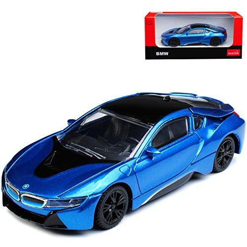 B-M-W I8 Coupe Blau Ab 2013 1/43 Rastar Modell Auto