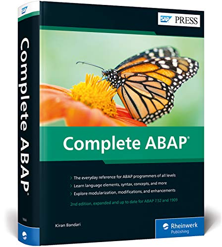 ABAP: The Comprehensive Guide to SAP ABAP 7.52 and 1909 (Second Edition) (SAP PRESS)