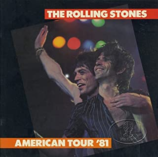 Rolling Stones 1981 U.S. Tattoo Tour Concert Program Programme