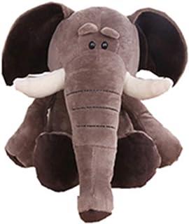 Stuffed Animal Plush Toy 13.8 Inch Cute Soft Jungle Elephant Plush Stuffed Animal Toy Doll, Gift for Kids Babies Birthday ...