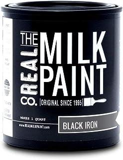 53- Realミルクペイント–ブラックアイアン(サンプル、Pt、QT、Gal ) Quart 53